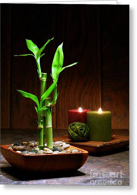 Relaxation And Meditation  Greeting Card