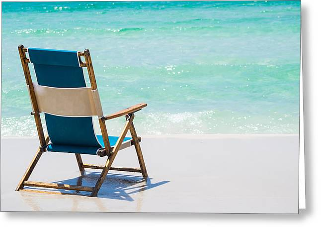 Relaxation Awaits Greeting Card by Shelby  Young