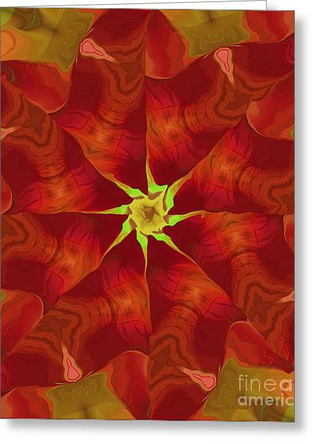 Release Of The Heart Greeting Card by Deborah Benoit