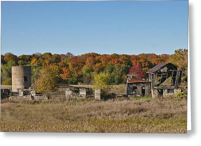 Greeting Card featuring the photograph Relics Of The Past by Gary Hall