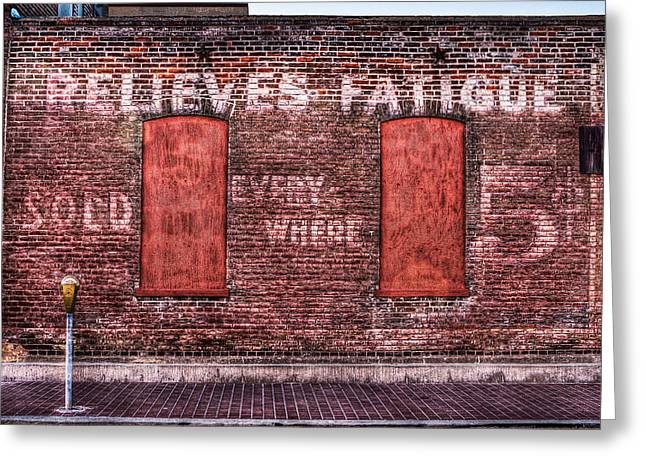 Relieves Fatigue  Greeting Card