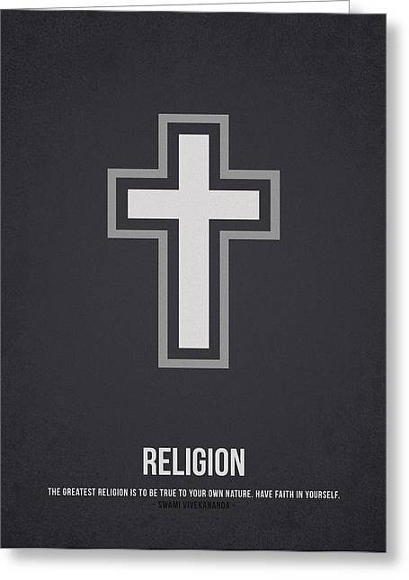 Religion Greeting Card by Aged Pixel