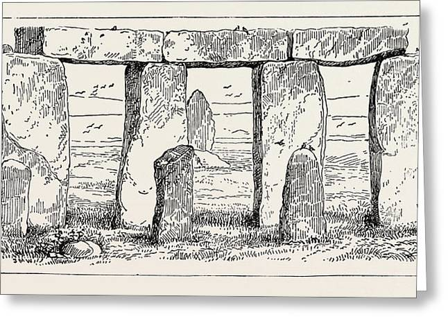 Remains Of A Druidic Temple Greeting Card