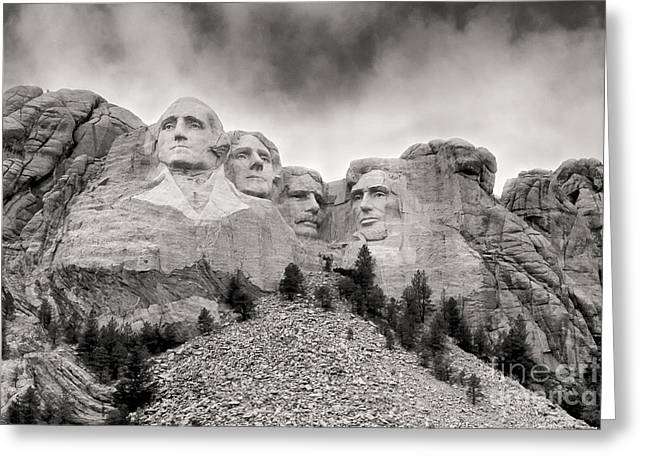 Remarkable Rushmore Greeting Card