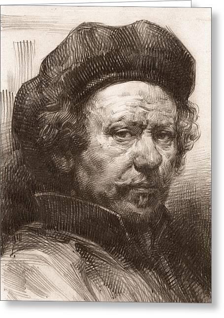 Rembrandt Portrait 1 Greeting Card