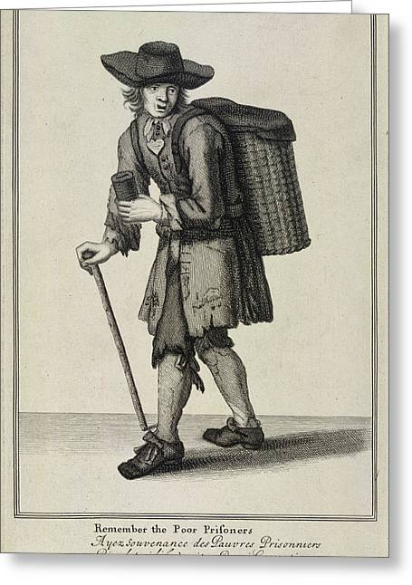Remember The Poor Prisoners Greeting Card by British Library