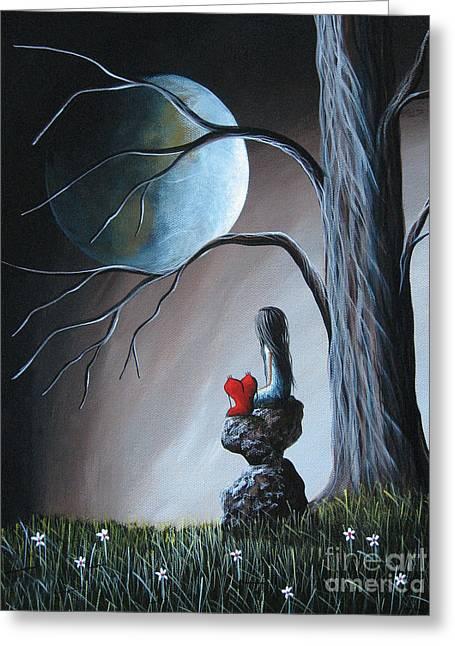 Surreal Art By Shawna Erback Greeting Card by Shawna Erback