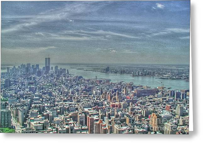 New York Remembering 9/11 Greeting Card