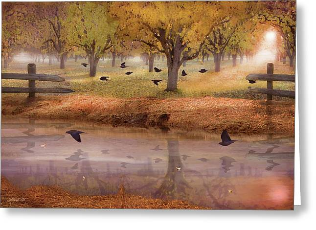 Remembering Everlasting Peace Greeting Card by David M ( Maclean )