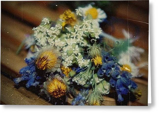 Remembering July Greeting Card