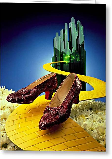 Remembering Oz Greeting Card by Allen Beilschmidt