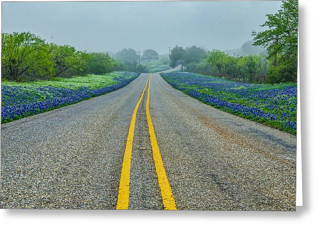 Remembering Spring In Texas Greeting Card by Jeffrey W Spencer