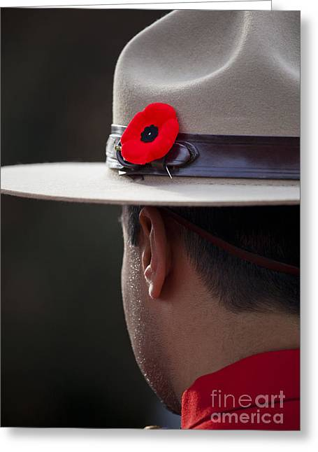 Remembrance Day Greeting Card by Chris Dutton