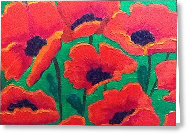 Remembrance Greeting Card by Donna Bird