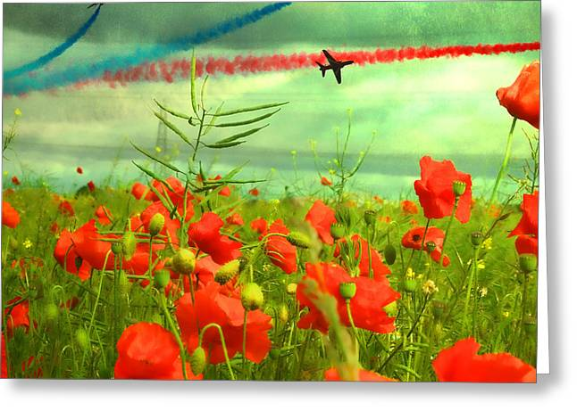 Remembrance  Greeting Card by Sharon Lisa Clarke