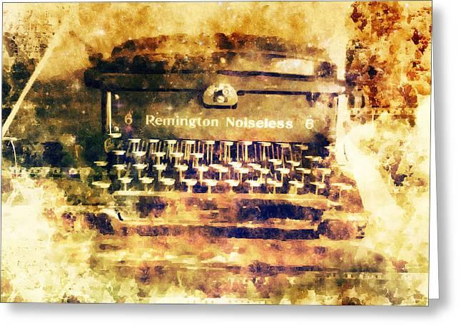 Remington Works Greeting Card by David Kuhn