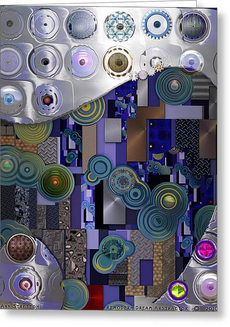 Remodern Dream Abstractor  Greeting Card