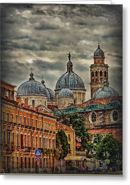 Renaissance Domes Greeting Card by Hanny Heim