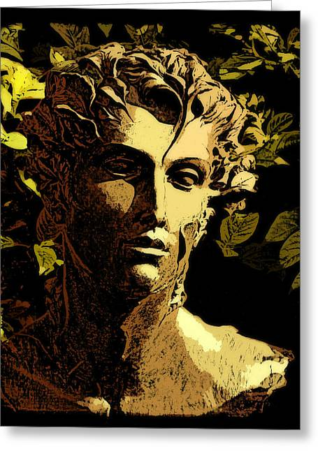Renaissance Man Greeting Card by Jean Connor