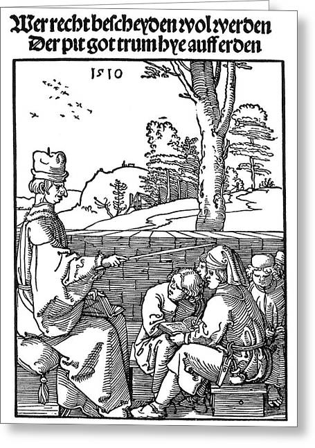 Renaissance School, 1510 Greeting Card