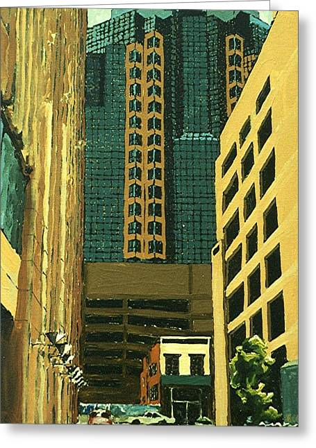 Renaissance Tower Greeting Card by Paul Guyer