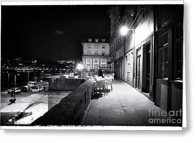 Rendezvous In Porto Greeting Card by John Rizzuto