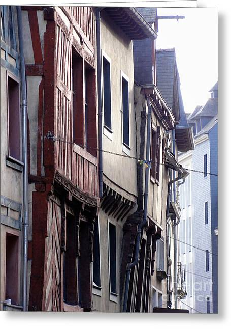 Rennes France 2 Greeting Card
