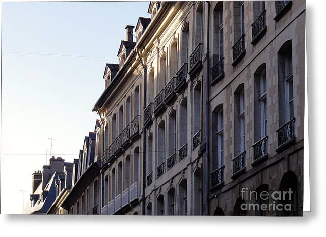 Rennes France 3 Greeting Card