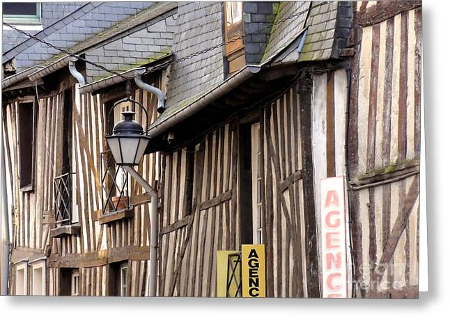 Rennes France Greeting Card