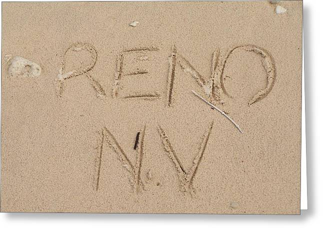 Reno Greeting Card