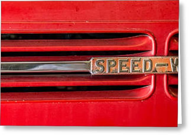 Reo Speedwagon Grill Greeting Card by Paul Freidlund