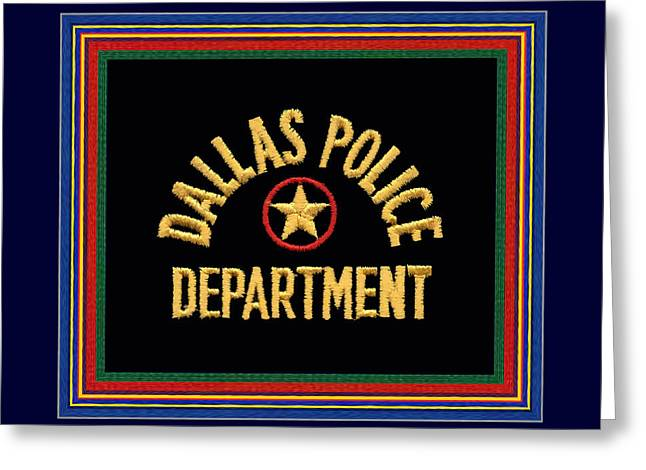 Replica Dpd Patch With Epaulette Colors Greeting Card