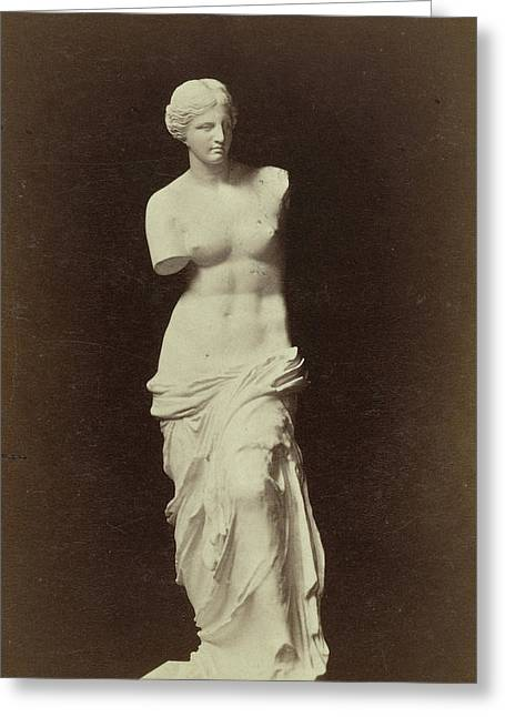 Replica Venus De Milo, Anonymous Greeting Card by Artokoloro