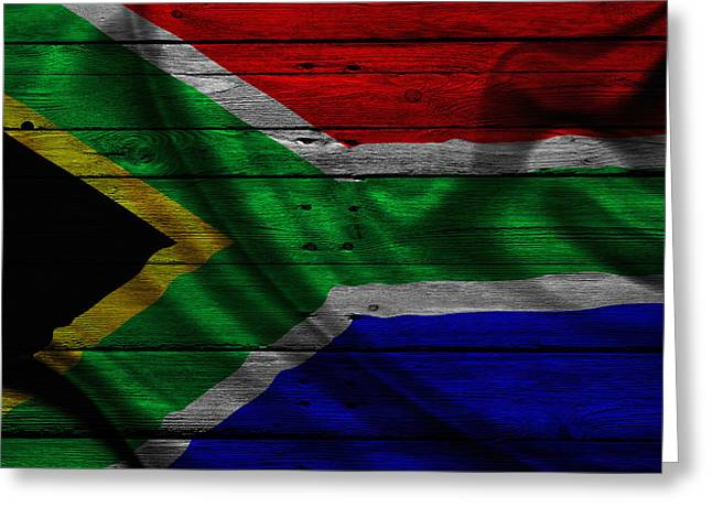 Republic Of South Africa Greeting Card