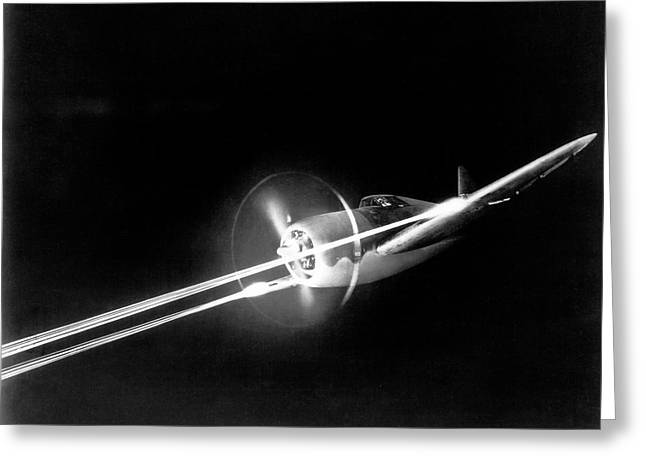 Republic P-47 Thunderbolt Greeting Card by Us Air Force