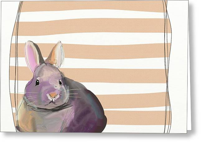 Rescued Bunny Greeting Card