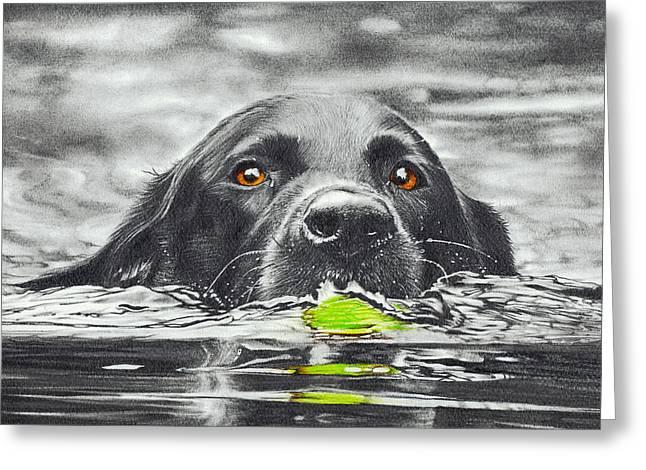 Reservoir Dog Greeting Card