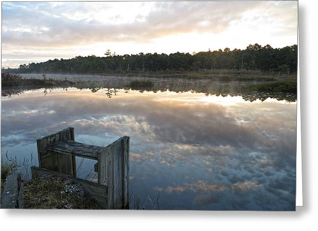 Reservoir Reflections Greeting Card