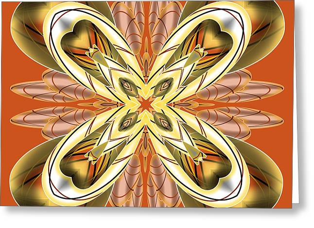 Resist The Flow 12 Greeting Card