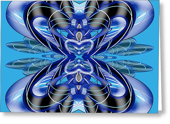 Resist The Flow 8 Greeting Card by Brian Johnson