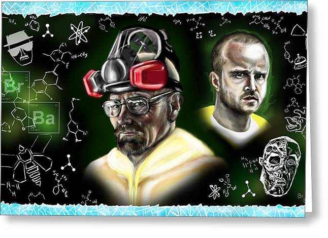 Respect The Chemistry Greeting Card