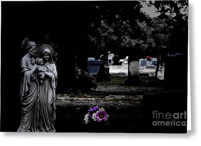 Rest In Peace Greeting Card by Douglas Barnard