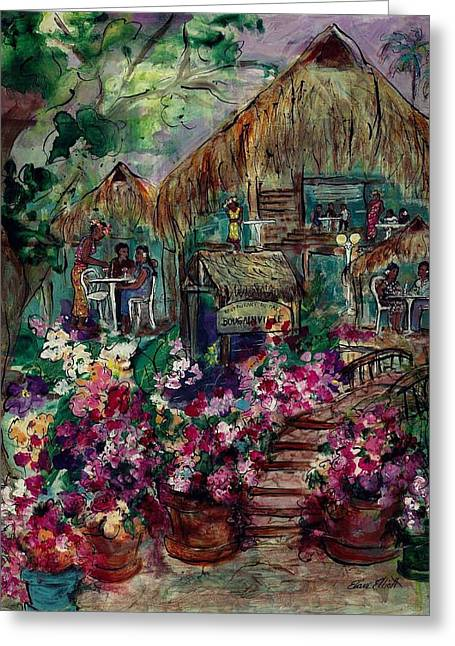 Restaurante Bougainville Greeting Card