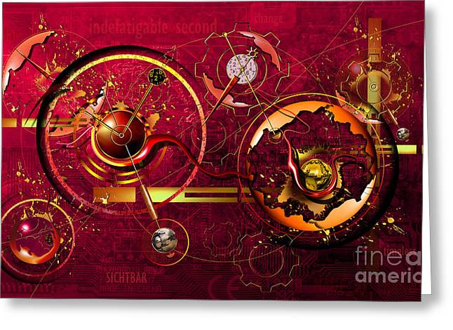 Restless Second Greeting Card by Franziskus Pfleghart