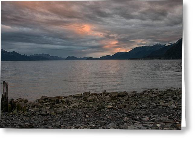 Resurrection Bay Greeting Card