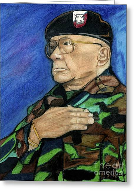 Ret Command Sgt Major Kittleson Greeting Card
