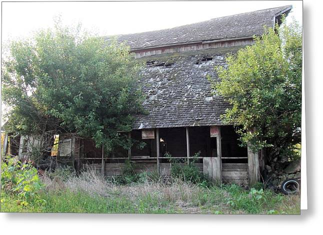Retired Barn Greeting Card