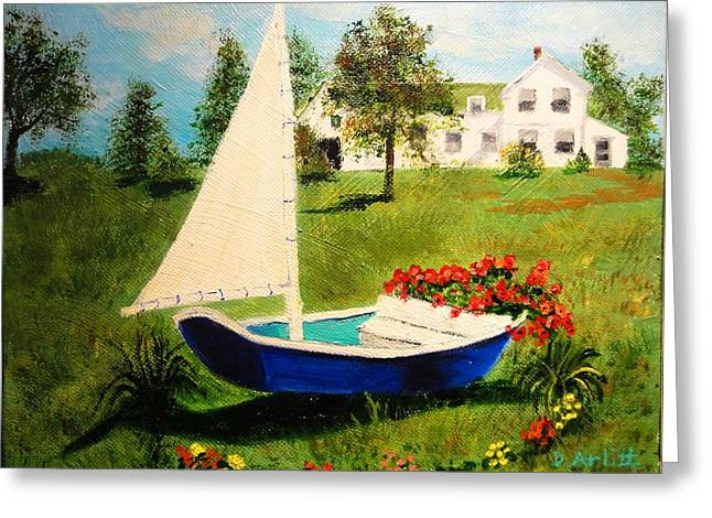 Retired In Cape Cod Greeting Card