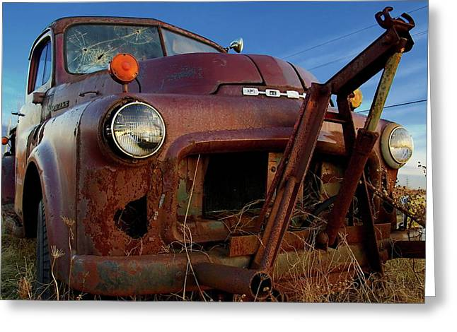 Greeting Card featuring the photograph Retirement Has Not Been Good by Chuck De La Rosa