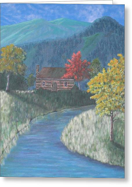 Retreat Greeting Card by Candace Shockley